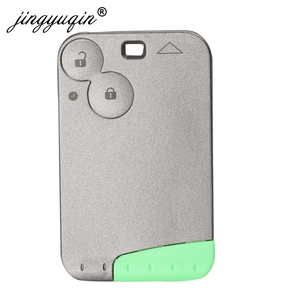 Image 3 - Jingyuqin 2 כפתור מרחוק מפתח PCF7947 שבב 433Mhz חליפת עבור רנו לגונה Espace 2001 2006 חכם כרטיס מרחוק fob רכב סטיילינג