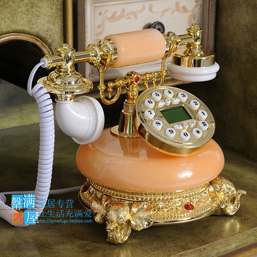 Telephone special offer of European fashion antique telephone three antique retro telephone landline corded phone ringing
