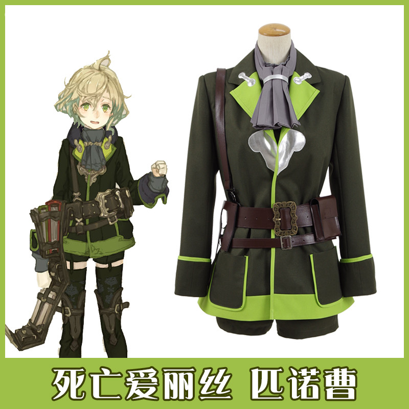 Custom-made 2017 Hot Anime SINoALICE Figure Master Pinocchio Cosplay Custume Full Set Fo ...