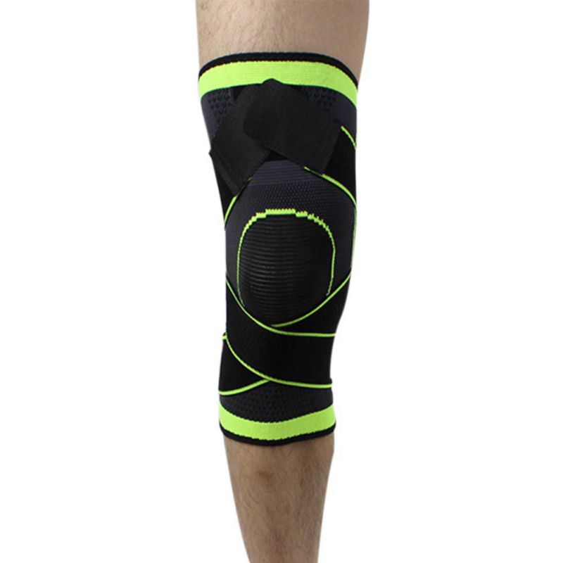 HOT NEW Outdoor Professional Pressurization Knee Brace Basketball Tennis Hiking Cycling Knee Support Protective Sports Knee Pad