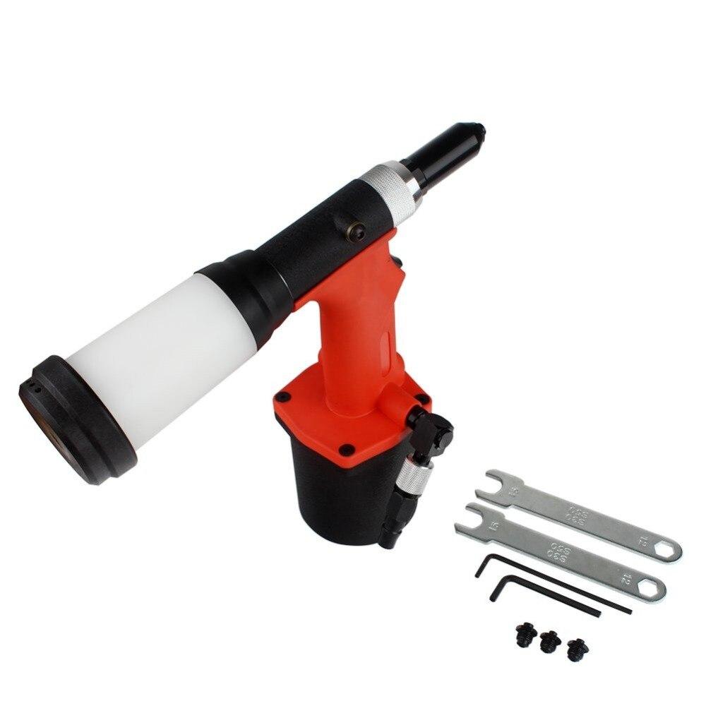 2.4/3.2/4.0/4.8MM Heavy Duty Air/Hydraulic Rivet Gun Professional Riveting Tool 1/4