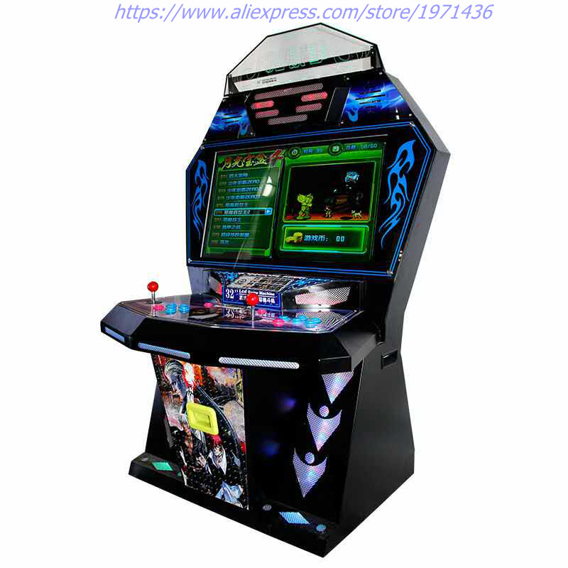 2018 New High Quality Amusement Coin Operated Games Tekken Street Fighter Arcade Cabinet Video Game Machine