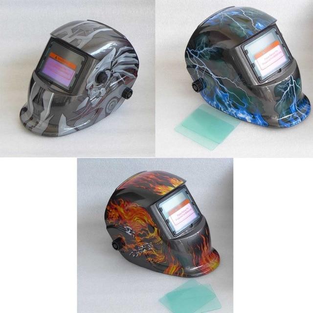 2 in 1 Grind and Weld Welding Helmet Solar Auto Darkening Welding Mask Welding Glass Welder Cap TIG MIG MAG MMA Welder Robot