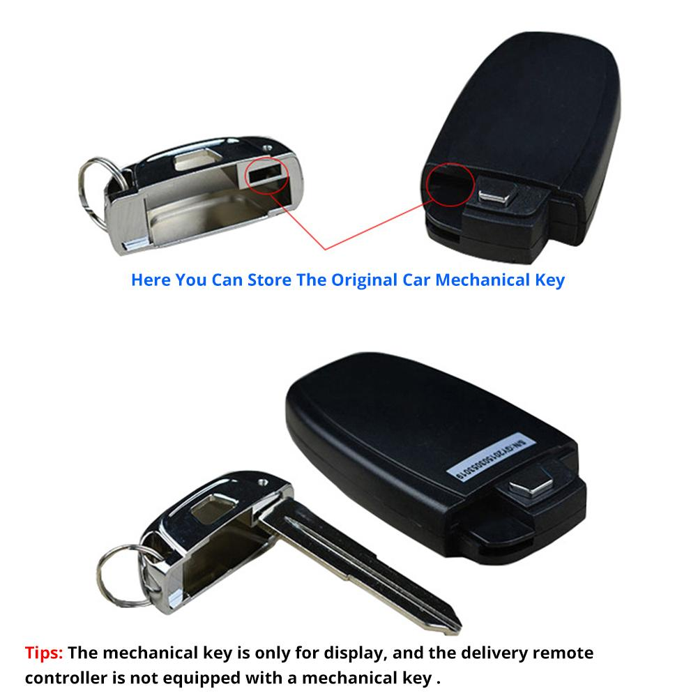 Image 4 - 1pcs Car Keyless One Button Start Remote Control System Auto Anti theft Alarm Remote Control System Automobile Car Accessorie-in Starter Parts from Automobiles & Motorcycles