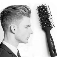 1Pc Salon Hair Styling Brush Comb Hair Styling Men Antistatic Hair Style Tool Resin Handle Y1