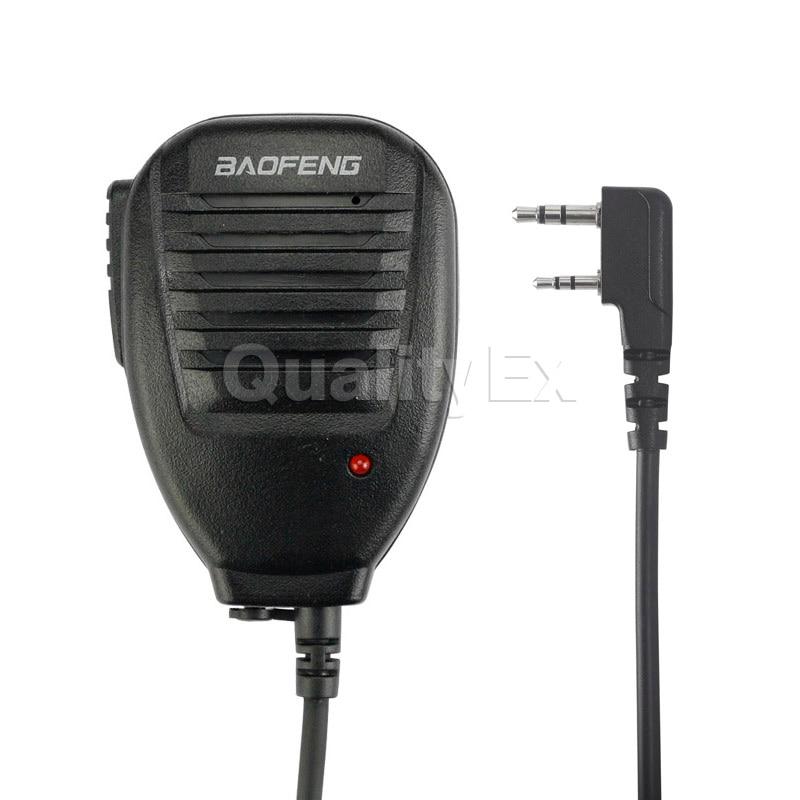 Baofeng Two Way Radio Walkie Talkie Handheld Microphone Speaker MIC for UV-5R Pofung UV 5R UV-B5 UV-B6 BF-888S BF-666S GT-3