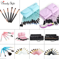 Vander Colors Gift Bag Of Makeup Sets 32pcs Make Up Brush Full Professional Cosmetics Brushes Eyebrow