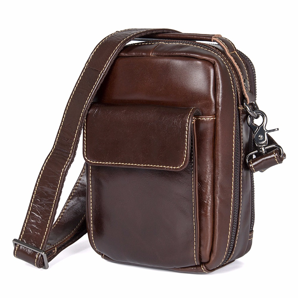 J.M.D Hot Selling Product High Quality Genuine Cow Leather Flap Adjustable Shoulder Bag Simple Style Handbag Crossbody Bag 1027C hot selling 2017nipon jjuya high quality genuine leather zippy wallets with dust bag and box free shipping