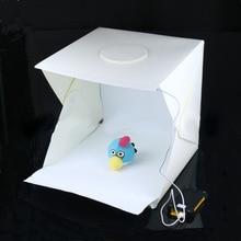40x40x40 cm Photo Studio Box Photographie toile de fond Intégré Lumière Photo Boîte Peu Articles Photographie Box Studio accessoires