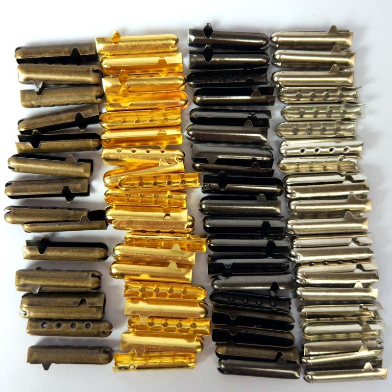 1000 Pcs 4X18mm DIY Shoelaces Head Accessorie Replacement Bullet Aglets Tip Shoe Accessories Fashion Shoe Laces Decorations in Shoe Decorations from Shoes