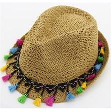 Verano Western Cowboy sombreros para hombres mujeres niños paja plegable  sombrero playa sombrero ancho Brim Cowboy 51e856751b7
