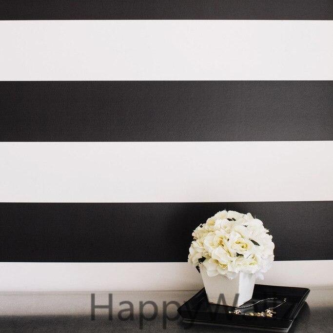 Stripe Wall Sticker Stripe Lines Wall Decals DIY Modern Wall Decors - Үйдің декоры - фото 4