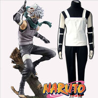 Hot Manga Amime Naruto Costume Naruto Hatake Kakashi Men's Anbu Cosplay Clothes Costume,Halloween Party Cosplay,Free Shipping