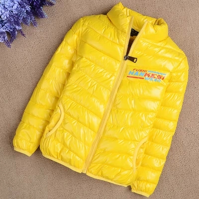ФОТО Child winter outerwear male female  child down cotton-padded jacket child wadded jacket hildren's clothing small