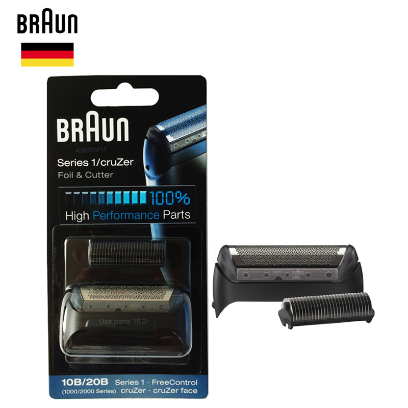 Foil & Cutter Replacement High Performance Part Razor Blade 1000/2000 Series 180 190 1775 1735 2675 5728 5729 Kind-Hearted Braun 10b/20b