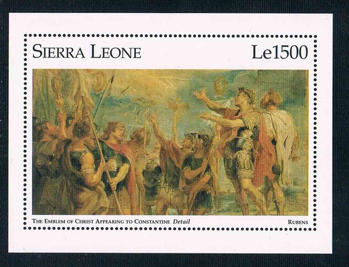 DA0626 Sierra Leone 1995 Constantine Lubensi road stamp 1M new 0731 from 2012 ea1420 1ms new 0626 coastal bird stamps
