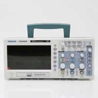 Livraison gratuite Hantek DSO5202P oscilloscope de stockage numérique 200MHz 2 canaux 1GSa/s 7 ''TFT LCD