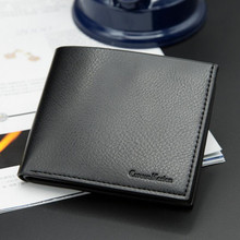 BARHEE Leather Wallet Men Purse for Men Carteras Para Hombres Card Holder Billetera Constructor Short Mens Wallet sac a main