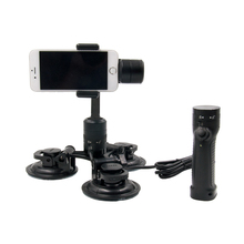 iSteady 3-Axis Handheld Gimbal Stabilizer for Smartphone with Vehicle Suction Cup Extension Application SPG Smooth For iPhone