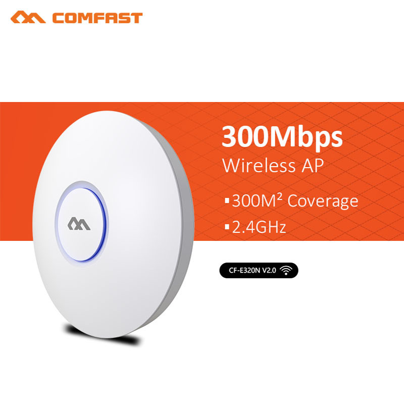 300Mbps CF-E320N V2 Wireless Indoor Wifi Repeater 2.4G Wifi Coverage Extender Signal Amplifier Open WRT Booster Repetidor AP