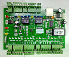 TCP/IP Entry Attendance Access Control Board Panel For 2 Doors  Cheap and stable Access Control Panel Controller System