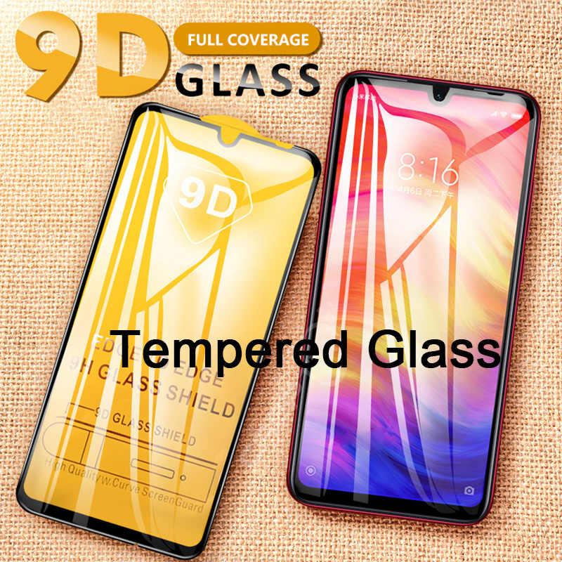 Vidrio Protector de alta transparencia para teléfono inteligente 9D para Redmi 7 6 Pro 5 Plus 6A 5A 4X Protector de pantalla para Redmi Y3 Y2 S2 Go