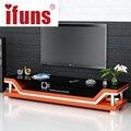Mesas de tv moderna, carrinho da tevê do vidro, tv mobiliário moderno