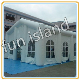 Cheap outdoor inflatable marquees for party and weddings ,giant inflatable tent for sale,event tents cheap giant nylon material inflatable outdoor tent with six legs for sale