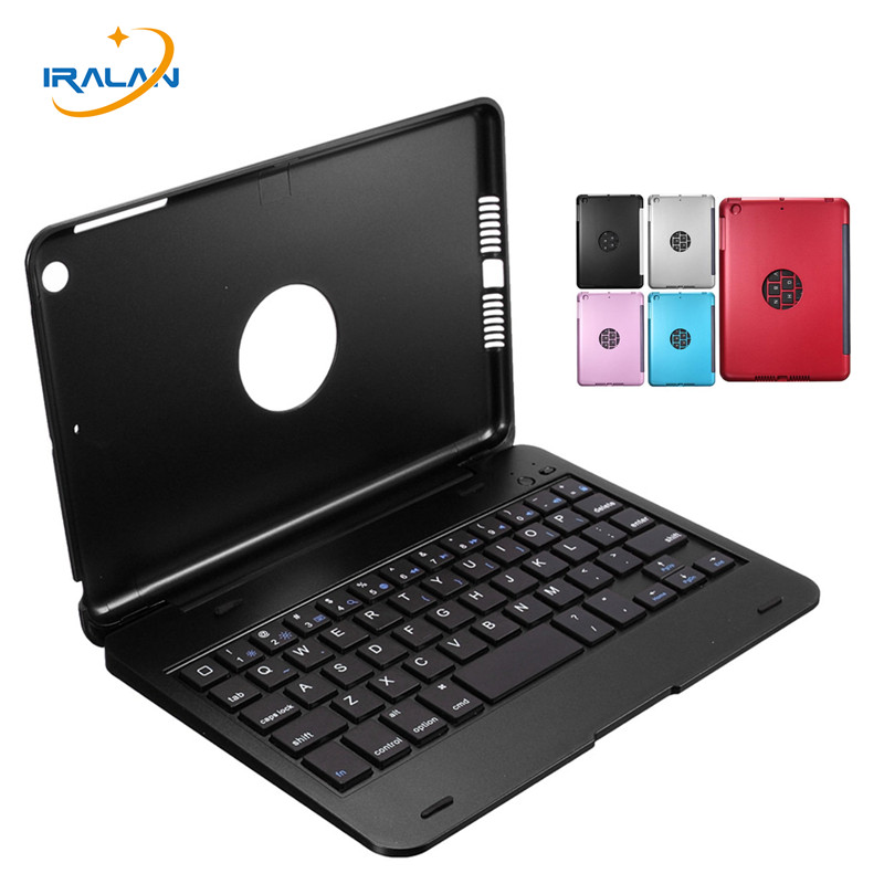 2017 New Wireless Bluetooth Keyboard Cover For IPad Mini 1 2 3 Full Body Protective Portable