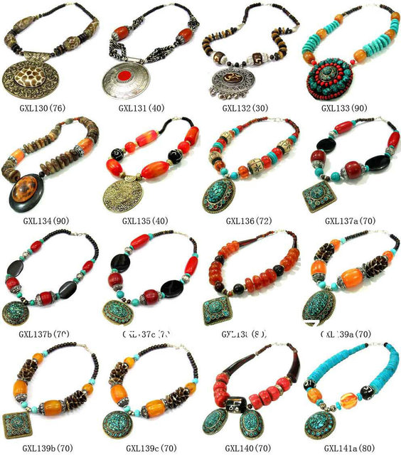 Mw 05 best mix wholesale tibetan ethnic colorful big pendants mw 05 best mix wholesale tibetan ethnic colorful big pendants necklacenepal india handmade aloadofball Images