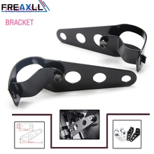 Motorcycle Accessories HEADLIGHT BRACKET Most of motorcycle with 35-43mm Fork Support and stabilize headlights