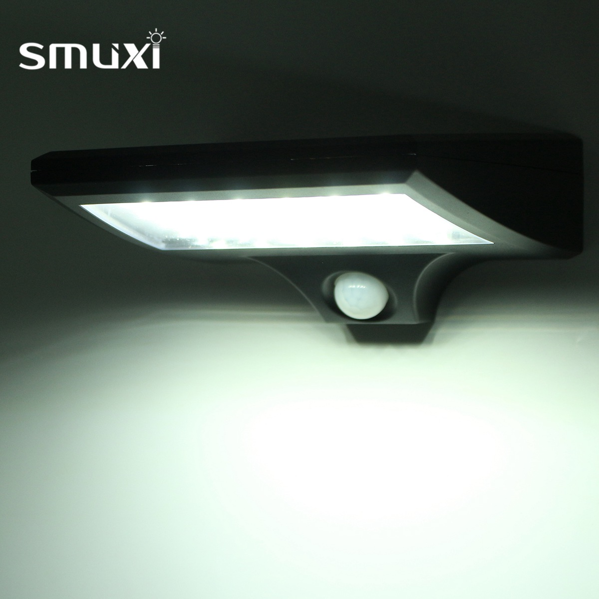 Smuxi Waterproof 30 LED Solar Power PIR Motion Sensor Wall Light Outdoor Garden Lamp Elec-Mall Solar Power Wall LampSmuxi Waterproof 30 LED Solar Power PIR Motion Sensor Wall Light Outdoor Garden Lamp Elec-Mall Solar Power Wall Lamp