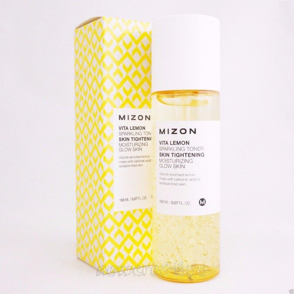 MIZON Vita Lemon Sparkling Toner 150ML talkingrain sparkling water lemon lime 16 9 ounce pack of 24