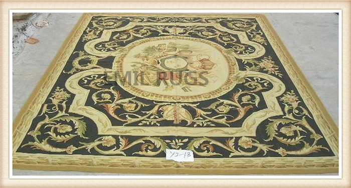 2014 Sale Direct Selling Hand Hooked Rugs And Carpets Alfombras Pure  Handmade Wool Carpet french 244cmx305cm (8u0027x 10u0027) Gc8aub128