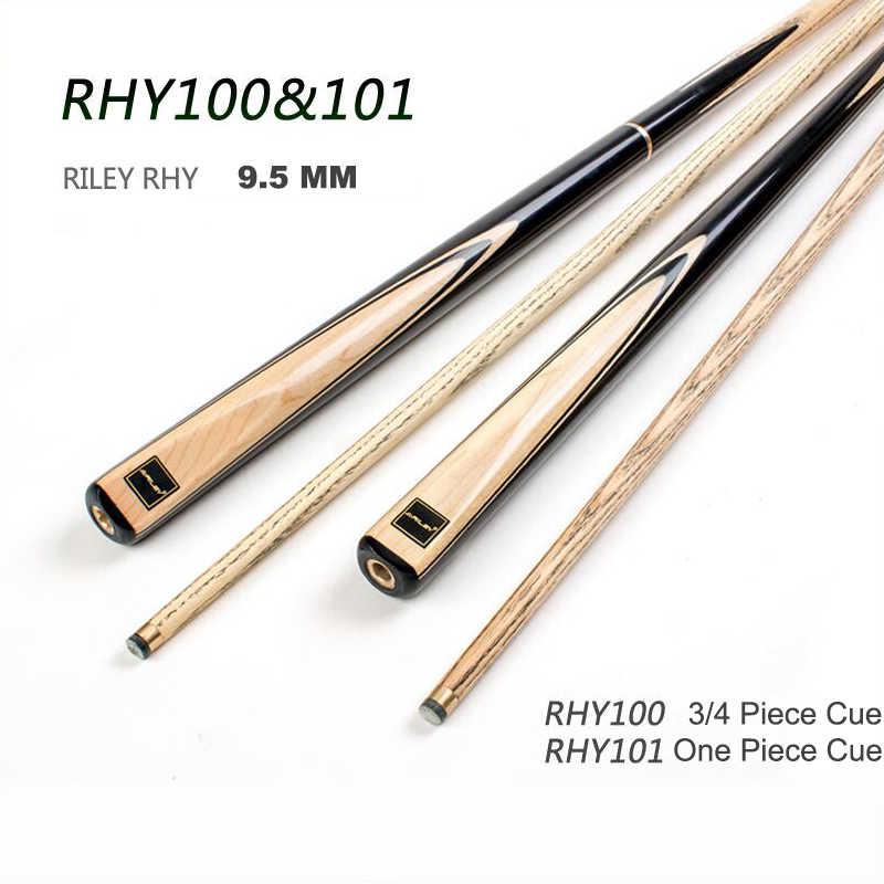 Набор для снукера RHY ручной работы 3/4 шт Снукер Cue One Piece Cue с корпусом RILEY с расширением 9,5 мм наконечник бильярдный Cue