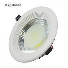 Free Shipping Super bright 7W/10W/15W Dimmable Led hight light  downlight 85-265V Recessed LED Ceiling down Lamp war