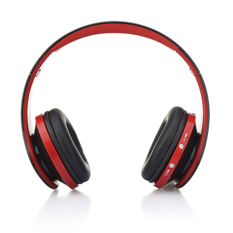 Stereo Bluetooth Earphones Foldable Headphones With Mic USB Rechargeable 3.5mm Audio Music Player For Iphone Phone games wireless big headphones high quality bluetooth for cell phones stereo audio foldable earphones tf card music player de112b