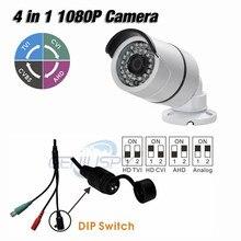 36Pcs IR Leds Night Vision AHD TVI CVI Analog 1080P 4 IN 1 Mini IR Bullet Camera 2MP Nextchip 2441H +Sony 323 Outdoor IP66
