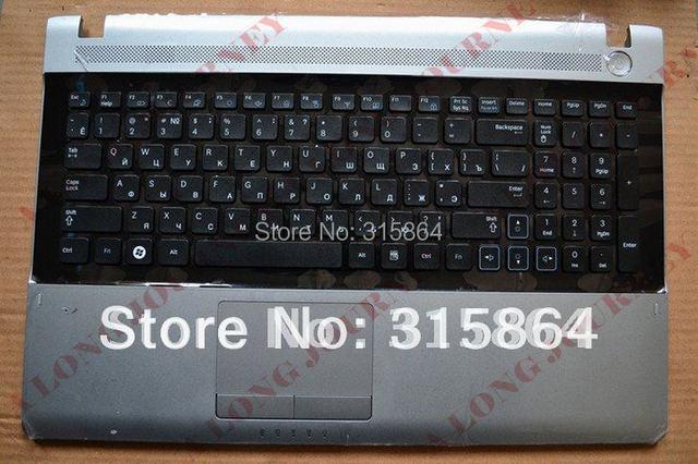 Nueva ru teclado del ordenador portátil para samsung rv509 rv511 rv515 rv520 negro c shell