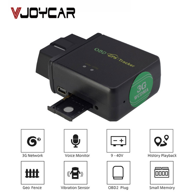 vjoycar obd 3g tracker gps car google maps tracking remotely reading