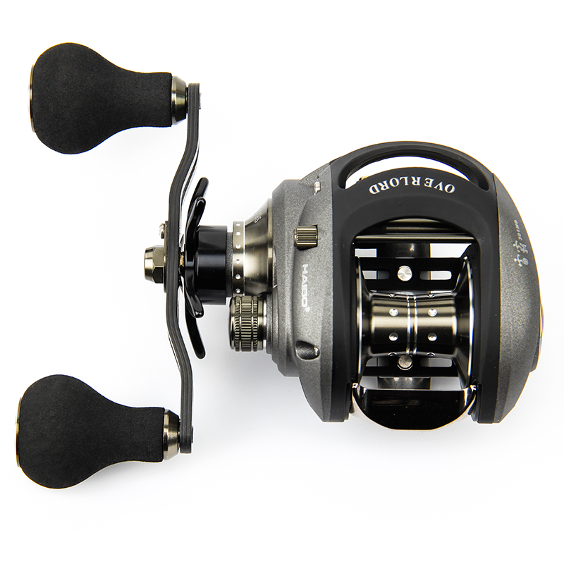 Здесь можно купить   Haibo 2016 New 9BB 5.4:1 OL300MD OL301MD Bait Casting Fishing Reel Left/Right Hand Bait Cast Lure Reels Magnetic Wheel Pesca Спорт и развлечения