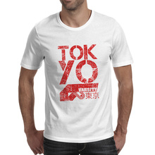Tokyo City T-shirt Japan Culture Cool Anime Fashion T Shirt Hip Hop Pop Rock Women Men Top