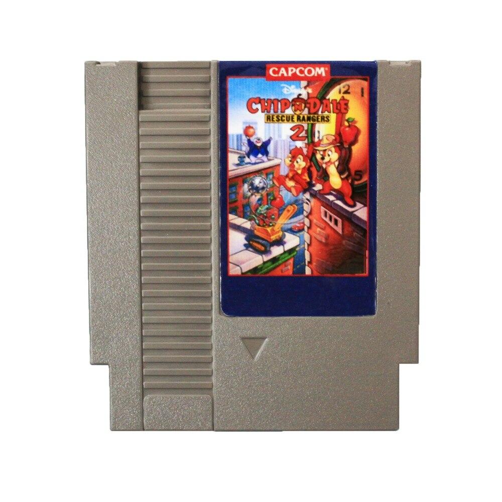 Best Vendita: Spilli cartuccia di Chip n Dale Rescue Rangers 2 72 8 Bit Gioco di Carte di Trasporto liberoBest Vendita: Spilli cartuccia di Chip n Dale Rescue Rangers 2 72 8 Bit Gioco di Carte di Trasporto libero