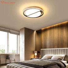 Ultra-thin LED Ceiling lamp modern  LED lighting fixture surface mounted LED chandeliers for living room bedroom AC110-240V modern square led panel surface mounted ceiling light white black bathroom ac110 240v luminarias para