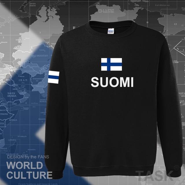 Finland hoodies men sweatshirt sweat new hip hop streetwear socceres jerseyes footballer tracksuit nation Finnish flag Finn FI 1