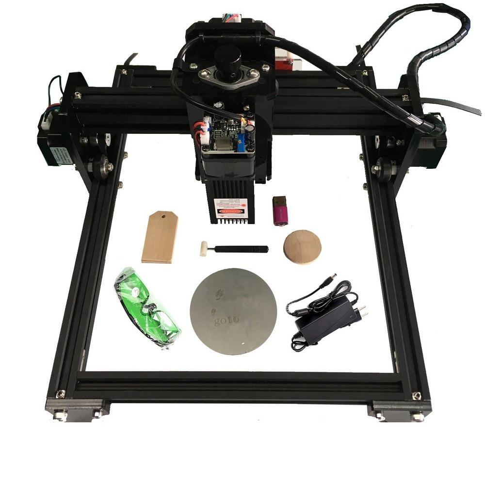 15000mw Laser Engraving Machine 15W Laser Head Wood Router PCB Glass Metal Milling Machine Wood Carving Machine DIY Mini CNC