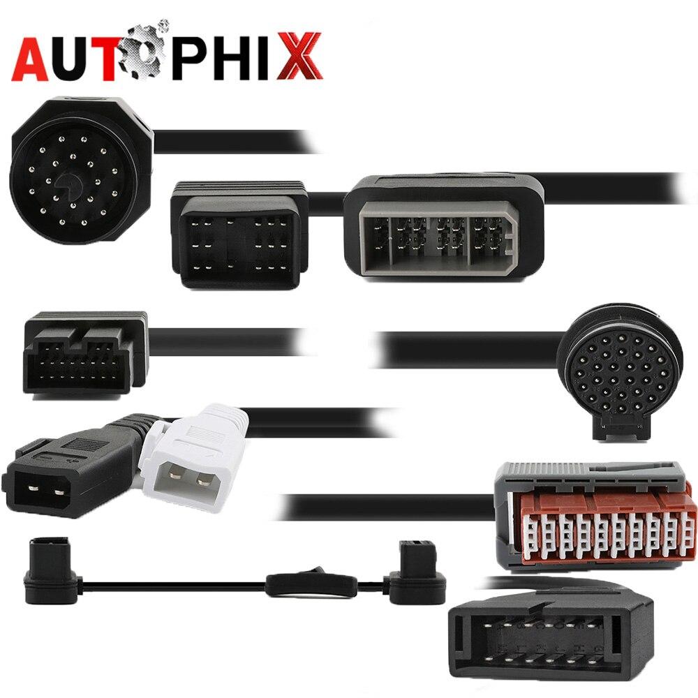 Удлинительный кабель Obd адаптер Obd ii кабеля автомобиля диагностический Кабели 16pin для Toyota Bmw G M Kia Fiat Benz NIssan mazda Opel и т. д. ...