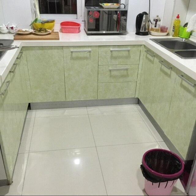 Lovely Marble Strip Self Adhesive Wallpaper Kitchen Oil Sticker Kitchen Cabinet  Countertops Refurbished Waterproof Tile