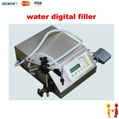 Newest electrical liquids filling machinery water digital filler automatic pump sucker beverage...