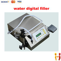 Freeshipping Electrical Liquids Filling Machinery Water Digital Filler Automatic Pump Sucker Beverage Oil Packaging Equipment